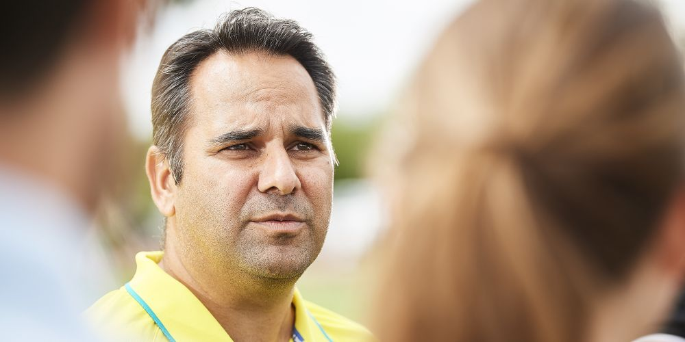 Hockeyroos coach Paul Gaudoin says Australia is chasing unpredictability with a World Cup on the horizon. Picture: Daniel Carson.