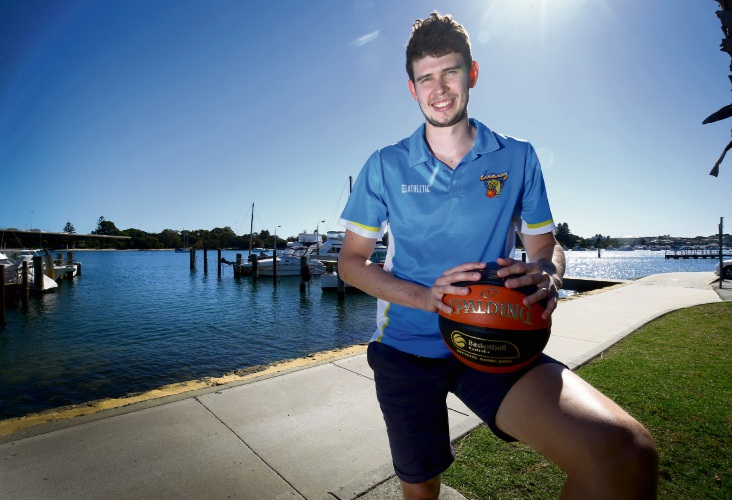 Perth Wildcats player Clint Steindl has joined the Cockburn Cougars. Picture: Matt Jelonek  d482721