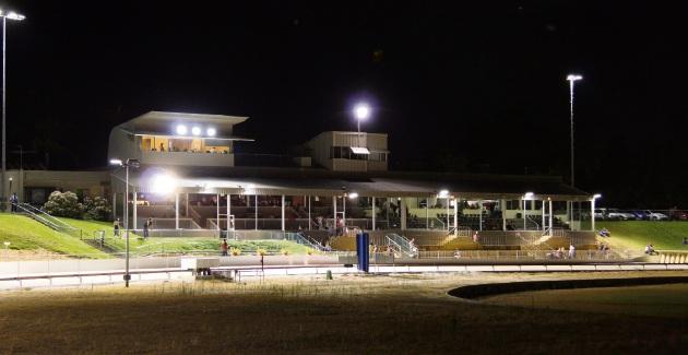 Greyhounds WA Mandurah's greyhound track.