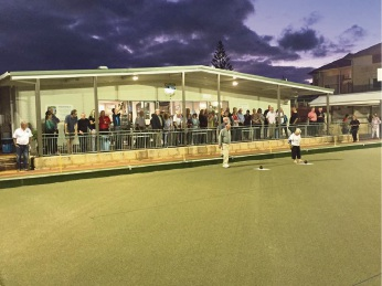 North Beach Bowling Club pleased with new synthetic green