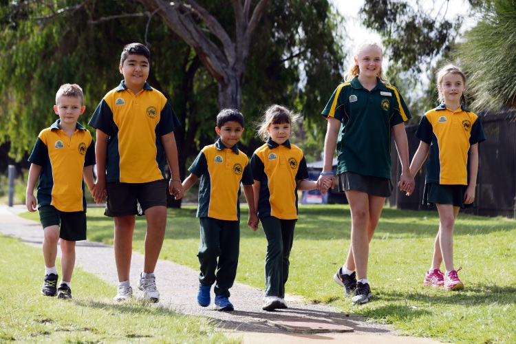 East Hamersley PS students to take part in Walk Safely to School Day