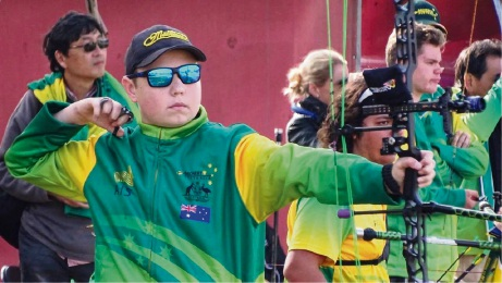 High Wycombe archer on target at two major competitions