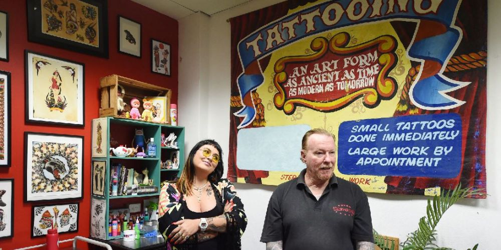 Got ink? Fremantle tour Death Before Dishonour teaches history of tattoos in port city
