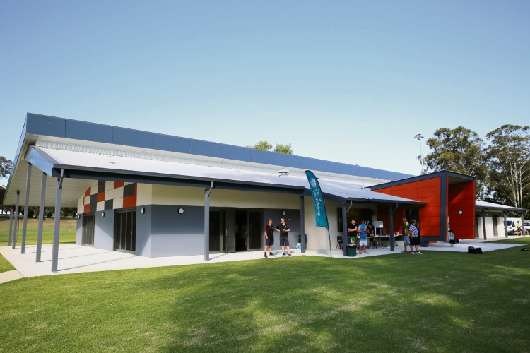 Western side of the Penistone Park community sporting facility.