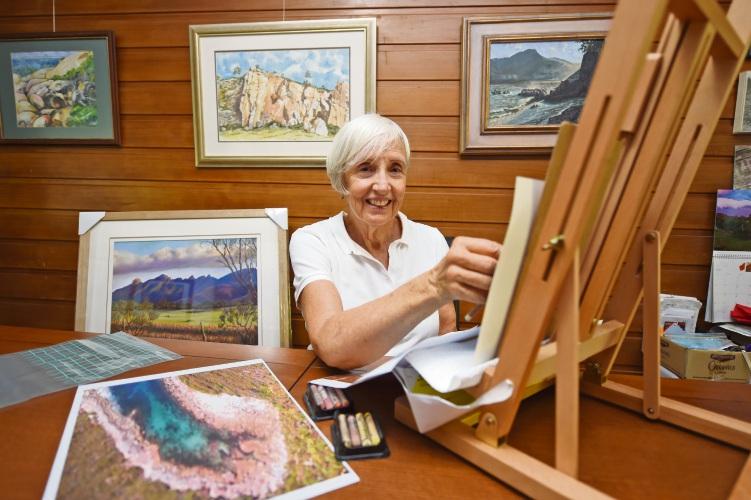 Booragoon artist Susan Swain.
