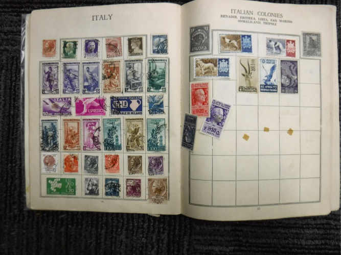 Police searching for owner of found stamp collection