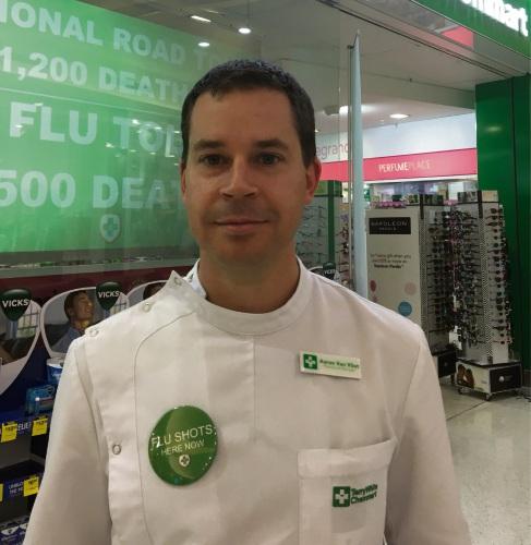 Pharmacist Aaron Van Vliet.