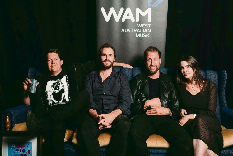 Local band Bolt Gun claimed WAM's Heavy/Metal song of the year. Picture: Rachael Barrett.