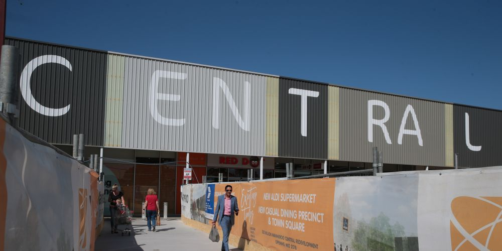 The first stage of the Wanneroo Central redevelopment will open next month. Picture: Martin Kennealey d481416