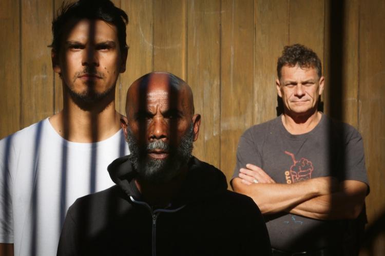 Ian Wilkes (Ellenbrook), Michael Leslie (Forrestfield) and Mark Howett (Fremantle). Picture: Andrew Ritchie d482847
