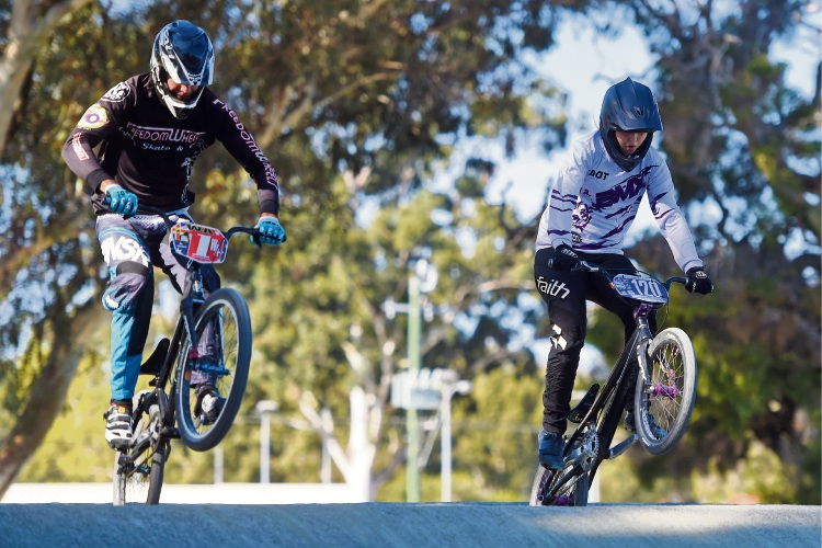 Southside BMX Club riders Bianca Campbell (Thornlie) and Murray Nottage (Harrisdale) will travel to Baku, Azerbaijan for June's BMX World Championships.