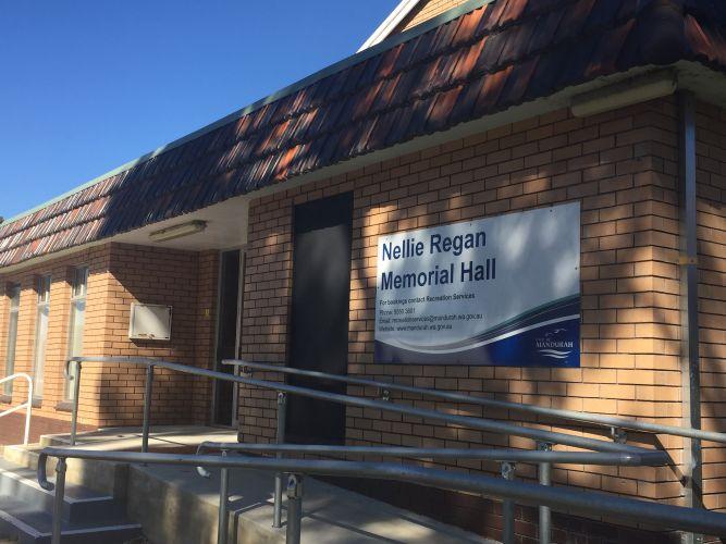 Nellie Regan Memorial Hall.