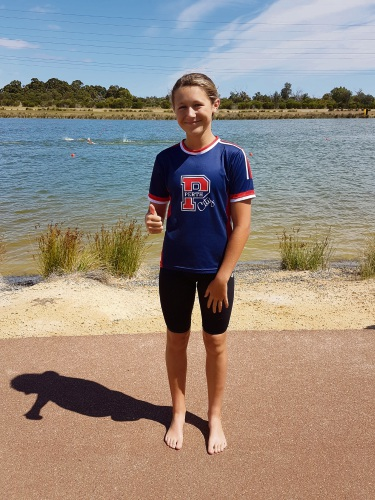 Chloe Green (16), of Watermans Bay, has been selected in the Australian junior open water swimming team.