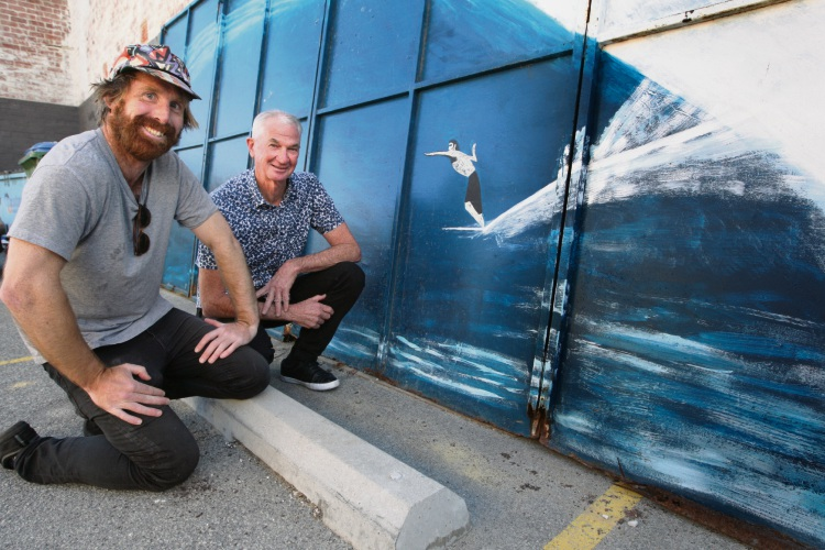 Piece of surfing cultural history found in Trigg home as it was being demolished