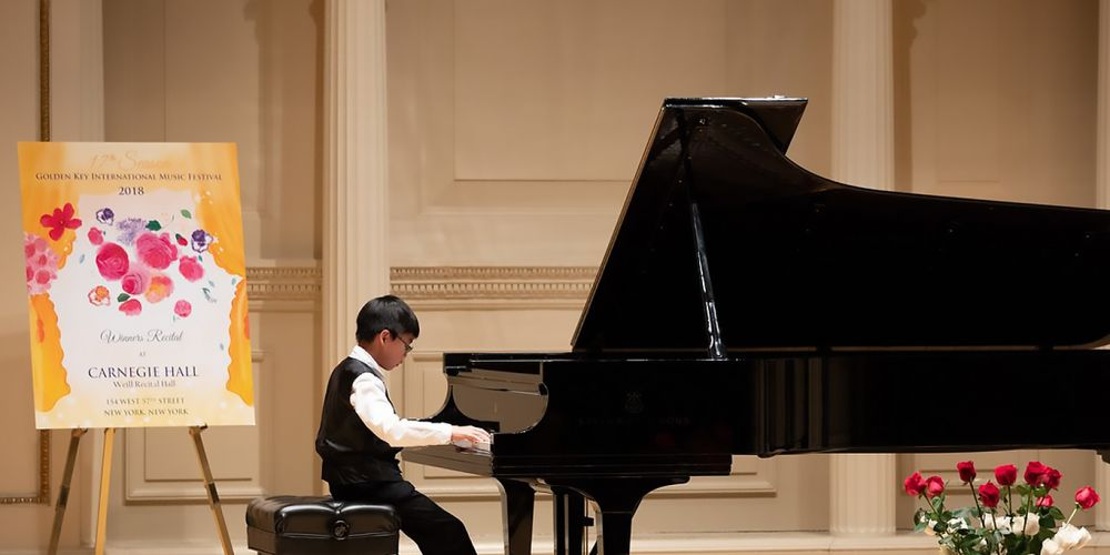 Jing Quan Chong performed at New York's Carnegie Hall in April.
