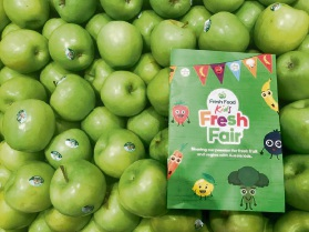 Fresh Food Kids Fresh Fair 'Passport Booklet'.