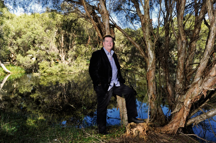 WA Gould League president Kevin Kenneally pictured at Herdsman Lake Wildlife Centre in 2012. Picture: Marcus Whisson d385619