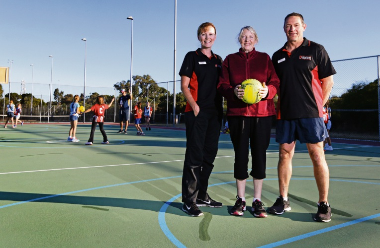 On the ball for 40 years: Quinns Districts Netball Club celebrates milestone