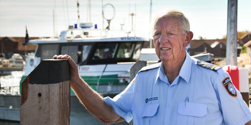 Ken Blackie, WA's Volunteer of the Year.