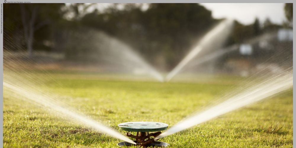 You could face a $100 fine for leaving your sprinklers on this winter. Picture: Supplied