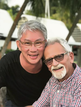 Peter Lammas and Dennis Lim.