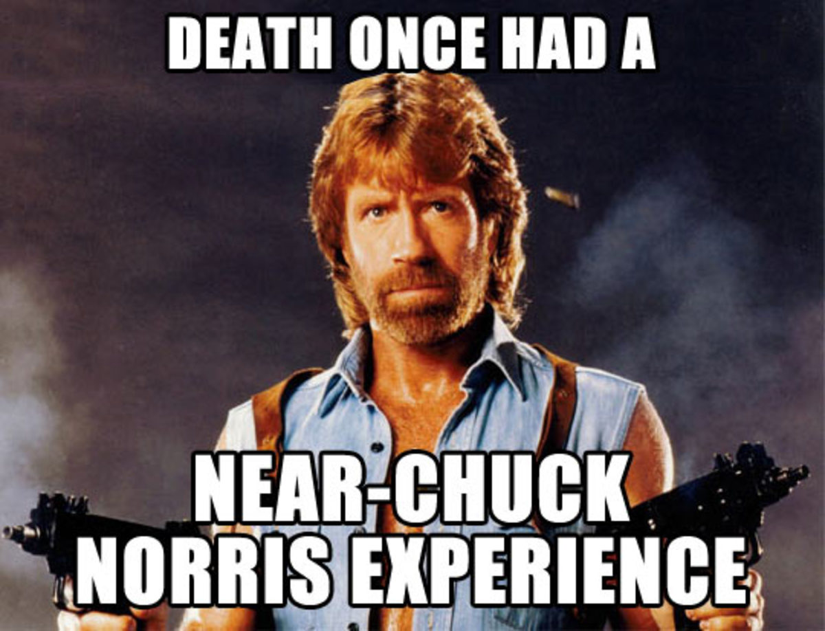 Chuck Norris is coming to Perth, everyone goes mad ...