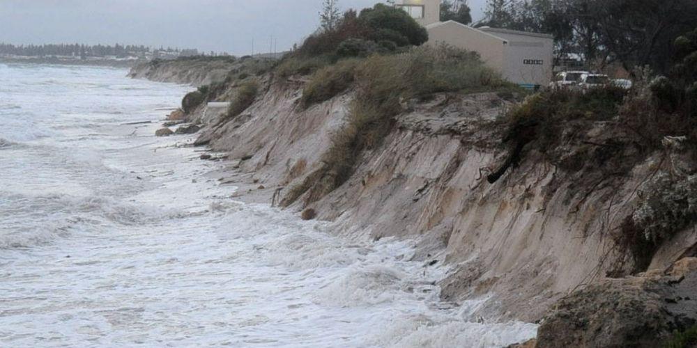 Port Beach is gone. Photo: Jon Bassett.