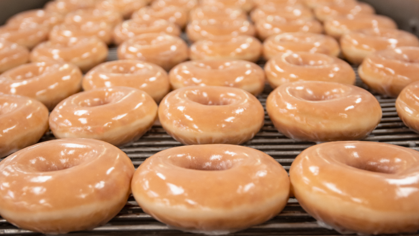 Krispy Kreme giving away 50,000 free doughnuts on national doughnut day