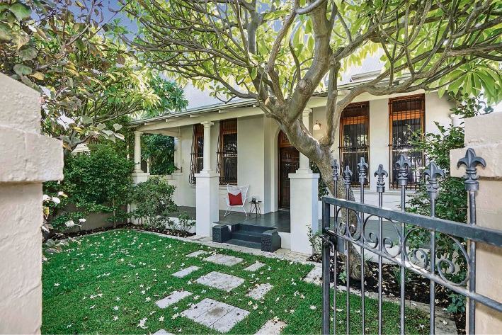 This character home on Lake Street, Perth attracted a lot of interest and sold for $1.4 million