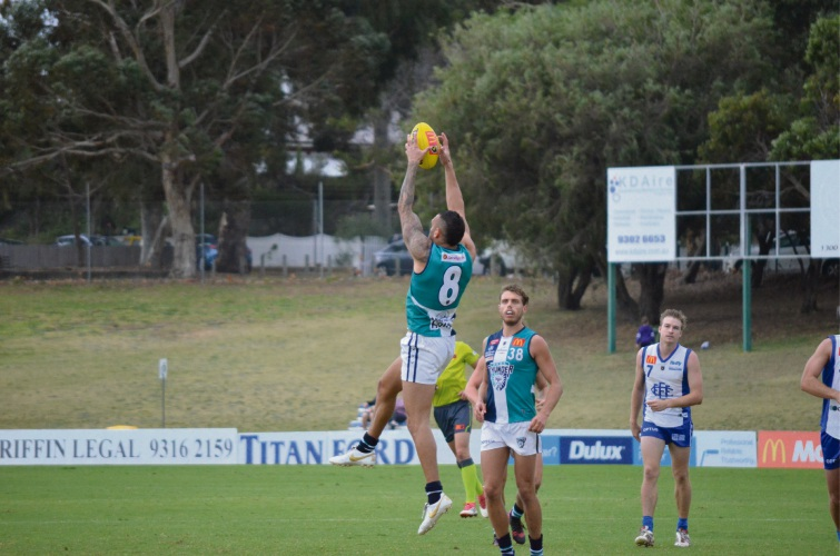 Harley Bennell provides a rare highlight for Peel.