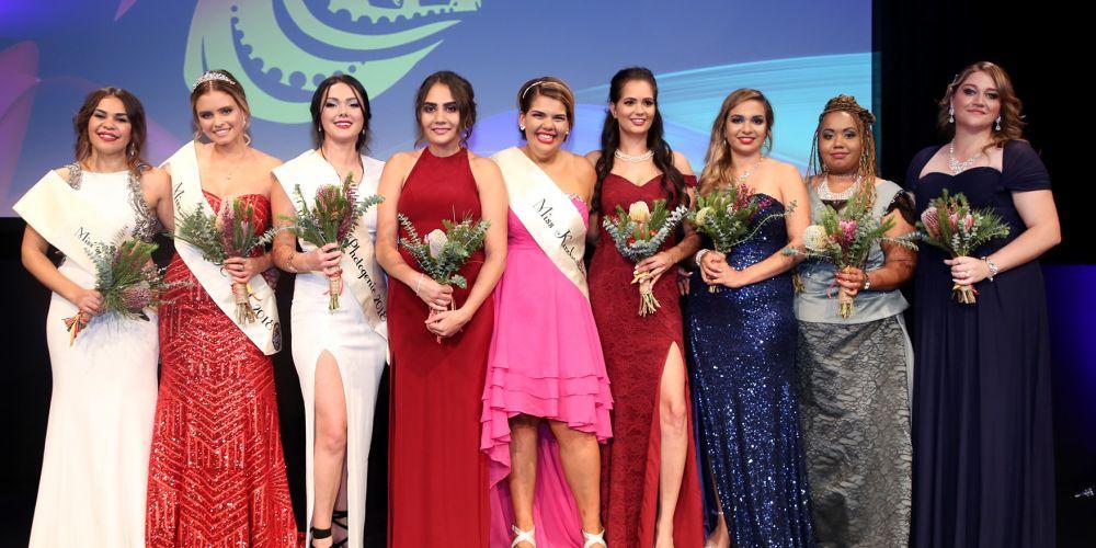 Miss Naidoc 2018 finalists. Picture: Naidoc Perth / Tash Gillespie