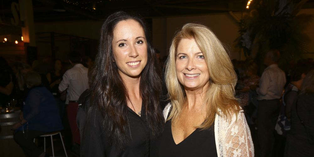 Stephanie White and Julie Vlahos.