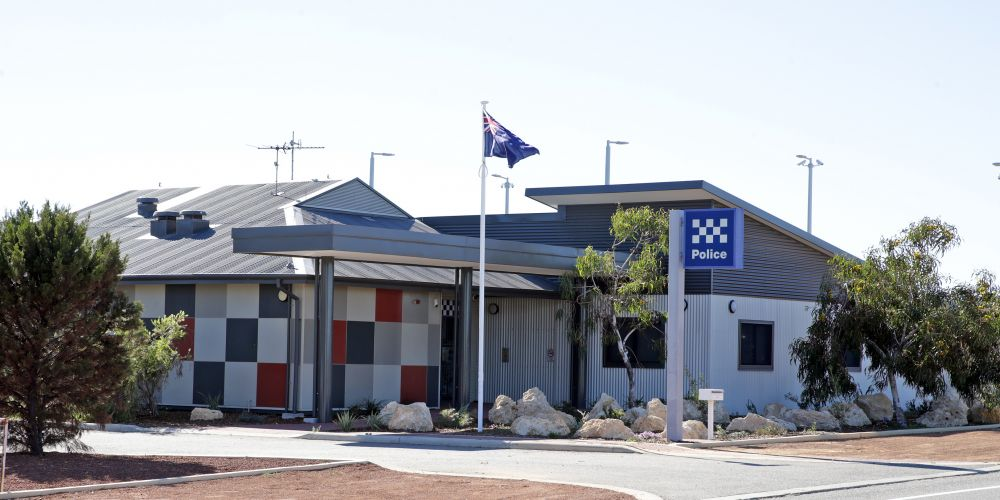 Yanchep police station's $3 million makeover is finished. Picture: Martin Kennealey d483050