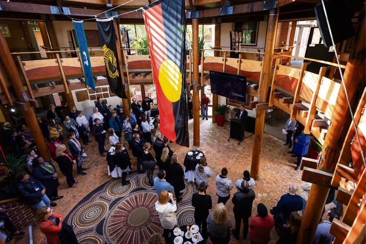 National Sorry Day inside the Centre for Aboriginal Studies at Curtin University. Picture: Will Russell D483269