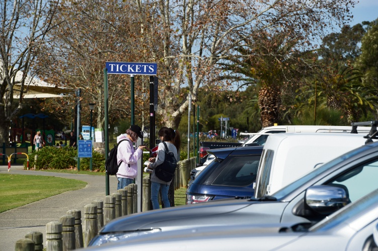 The South Perth Esplanade will revert back to paid parking from June 30.