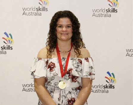 Brandi Burnett will compete in the WorldSkills National Championships.