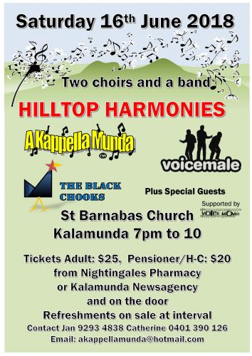 Hilltop Harmonies
