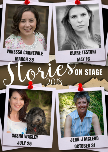 Stories on Stage: Sasha Wasley