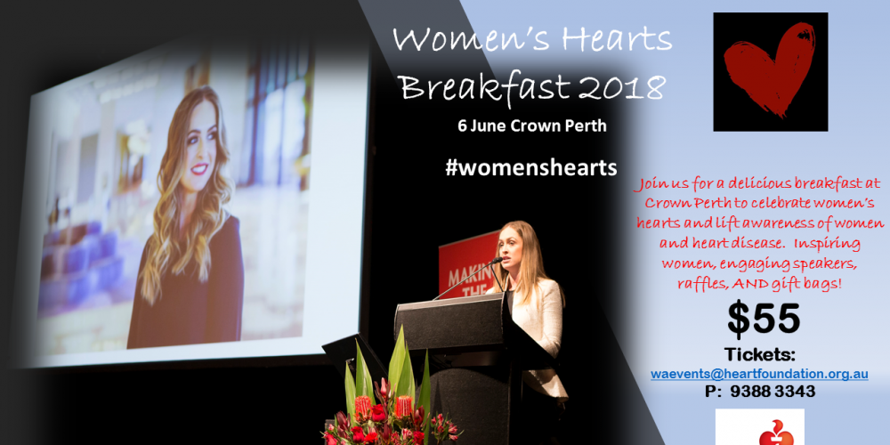 Women's Hearts Breakfast 2018