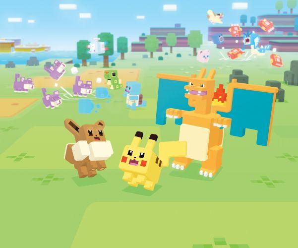 Pokemon Quest is coming to smartphones in June.
