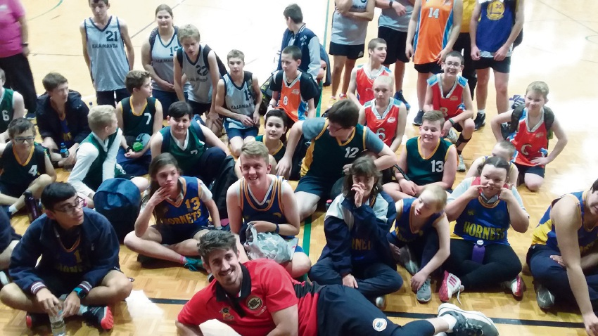 Students from 15 education support centres across WA competed at the Hills Basketball Carnival in Lesmurdie.
