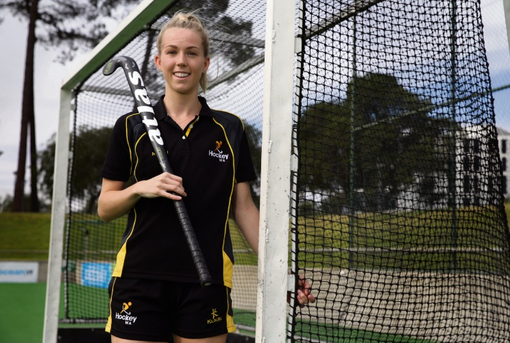 Victoria Park hockey player selected in State under-21 team