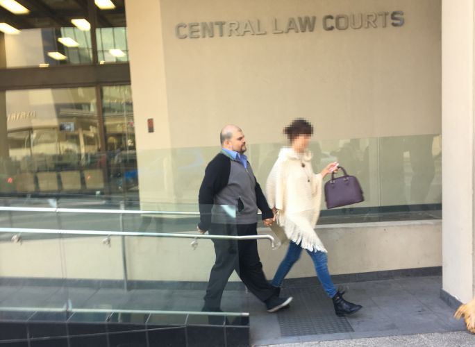 Mauricio Cabrera leaves Perth's Magistrates Court. Picture: Mark Donaldson.