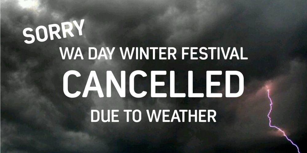 Mandurah WA Day Festival cancelled