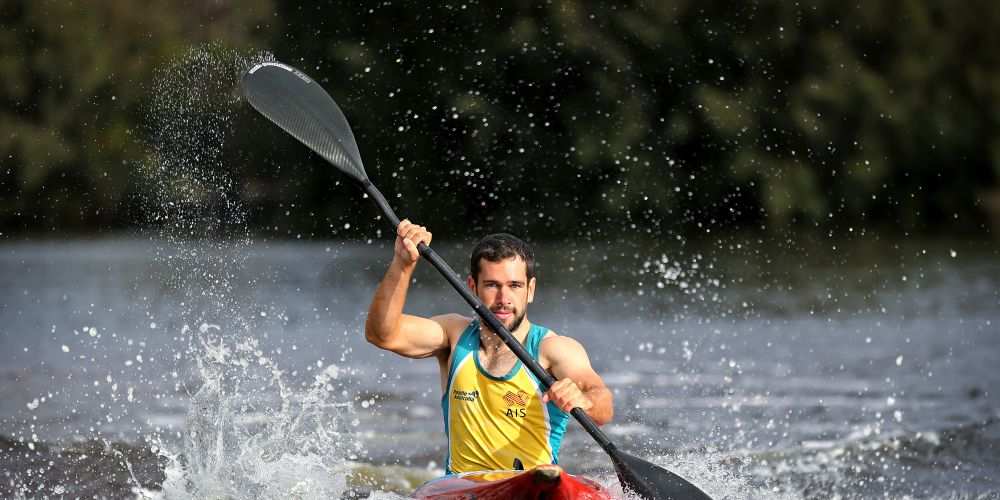 Kayaker Ben Pope of Bullsbrook.  Ben is ranked 4 in Australia for Men's K1 Canoe Slalom and is training for the 2020 Tokyo Olympic Games.