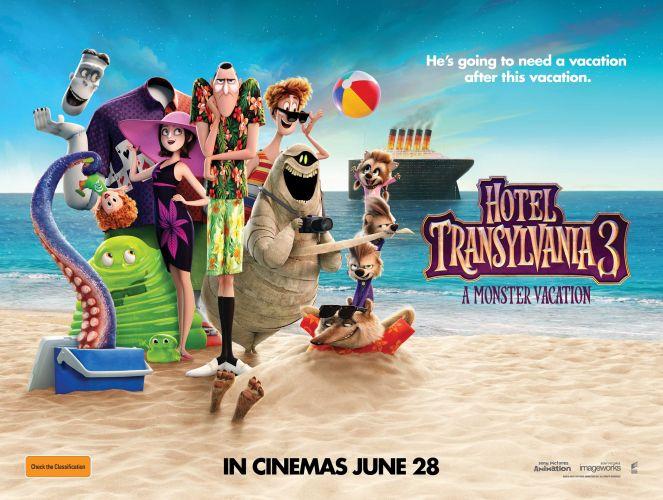 Win a family pass to Hotel Transylvania 3