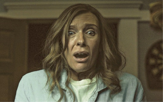 Toni Collette in Hereditary.
