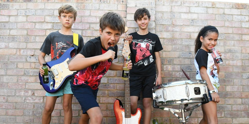 Small rockers The Younglings bringing big noise to Squidstock in Caversham