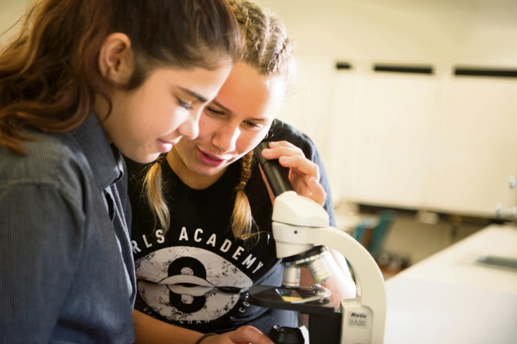 Coodanup College students participating in the Girls' Academy program.