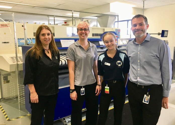 High school students get paid work placement at Joondalup Health Campus